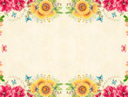 Free Stock Photo of Floral Background Illustration