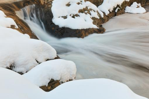 Free Stock Photo of Croydon Winter Creek
