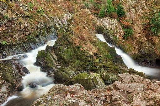 Free Stock Photo of Conwy Falls