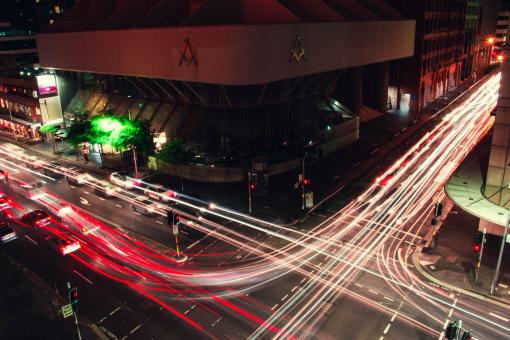 Free Stock Photo of Sydney Intersection