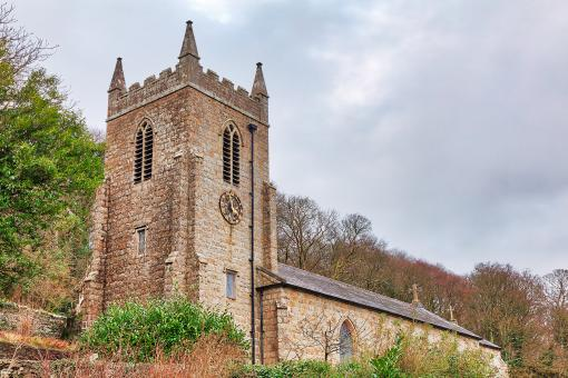 Free Stock Photo of St Cyngar's Church