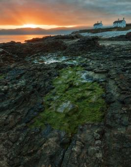 Free Stock Photo of Penmon Point Sunrise