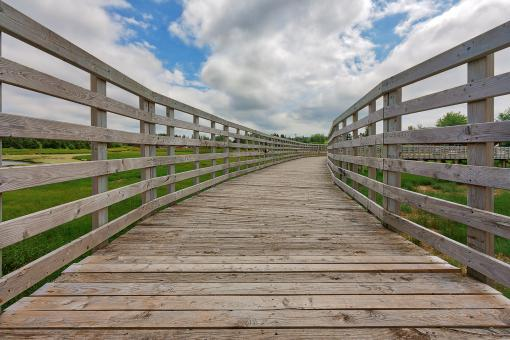 Free Stock Photo of PEI Boardwalk - Saint Peters Bay