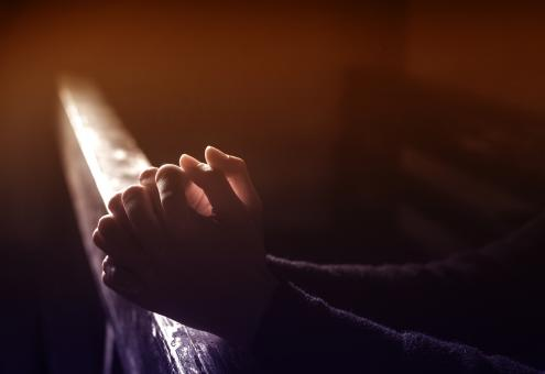 Free Stock Photo of Prayer - Person Praying - Hands