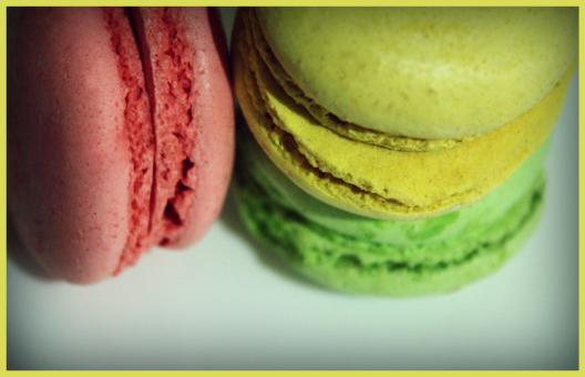 Free Stock Photo of French macarons