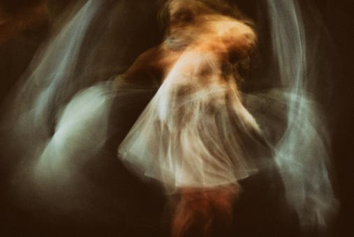 Free Stock Photo of Blurred Dancer