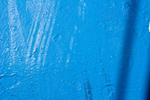 Free Stock Photo of Weathered Blue Paint