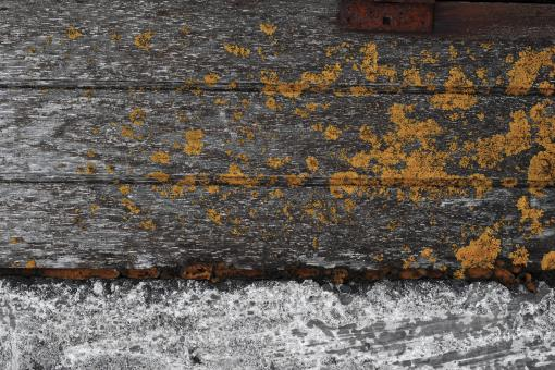 Free Stock Photo of Old Wood and Concrete