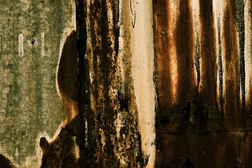 Free Stock Photo of Grunge Metallic Wall