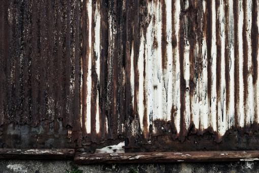 Free Stock Photo of Rusted Metal Wall