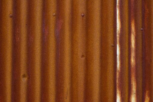 Free Stock Photo of Old Rusted Metal Wall