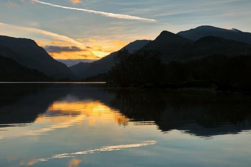 Free Stock Photo of Padarn Sunrise