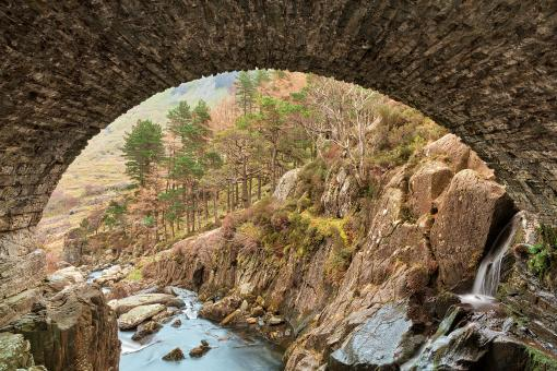 Free Stock Photo of Ogwen Arch