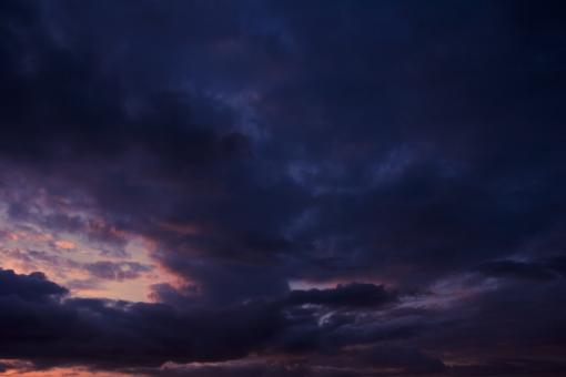 Free Stock Photo of Dark Blue Sky