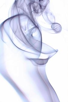 Free Stock Photo of Blue Abstract Smoke