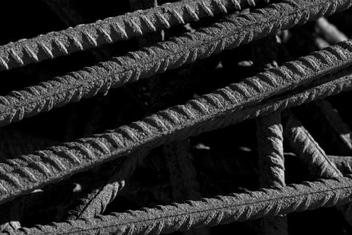 Free Stock Photo of Steel Bars Texture