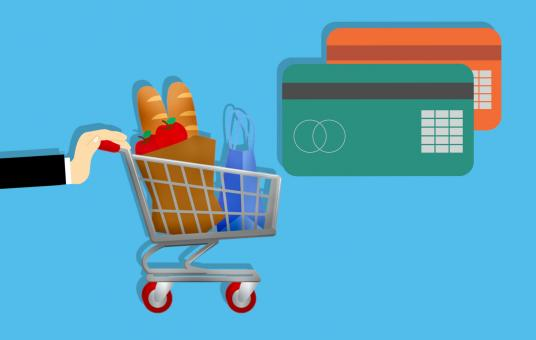 Free Stock Photo of Shopping with Credit Card