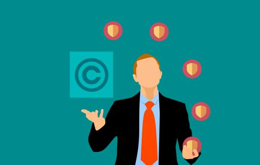 Free Stock Photo of Copyright Protection