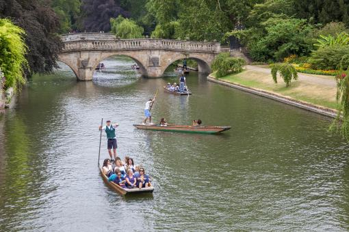 Free Stock Photo of Punting