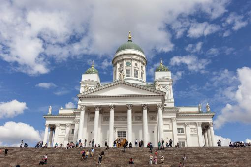 Free Stock Photo of Helsinki Cathedral