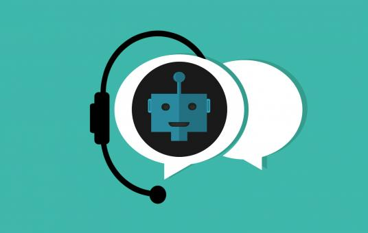 Free Stock Photo of Chatbot Assistance Illustration