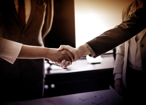 Free Stock Photo of Handshake - Agreement - Business Contract