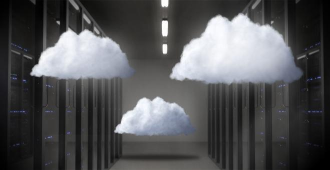 Free Stock Photo of Cloud Infrastructure - Cloud Computing Concept