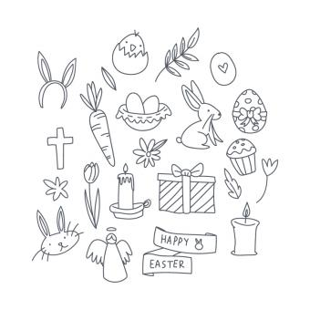 Free Stock Photo of Easter Doodles