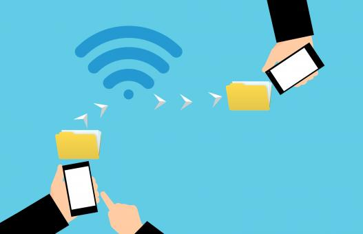Free Stock Photo of WiFi Direct Illustration