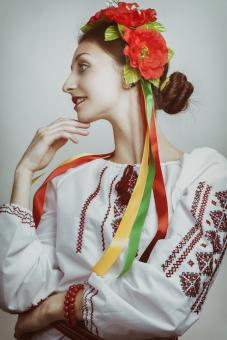 Free Stock Photo of Ukrainian Girl Portrait