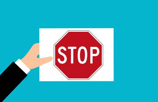 Free Stock Photo of Stop Sign Illustration