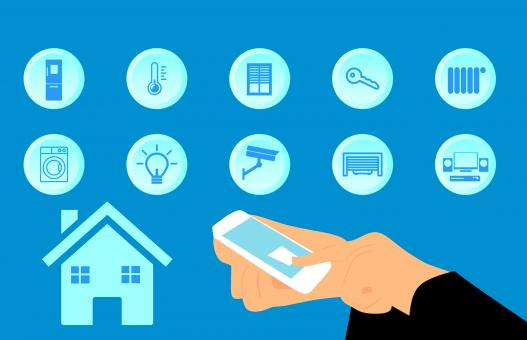 Free Stock Photo of Smart Home Illustration