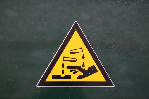 Free Stock Photo of Well designed warning sign