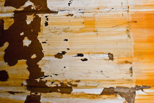 Free Stock Photo of Peeling Rusted Metal Surface
