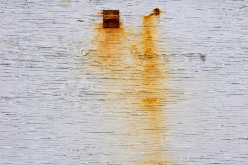 Free Stock Photo of Rust Streaks on Wood