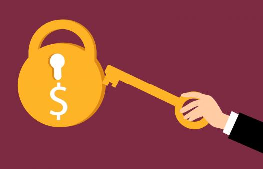 Free Stock Photo of Money Key
