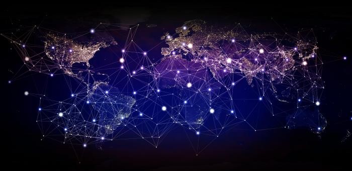 Free Stock Photo of Global Network - Connecting the Globe - Globalization