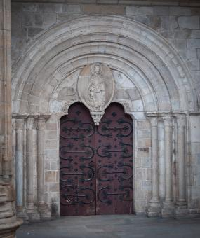 Free Stock Photo of Old Castle Door