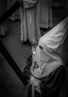 Free Stock Photo of Holy Week Penitent