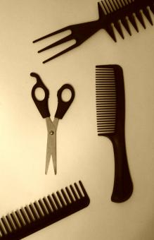 Free Stock Photo of Hairdresser's tools