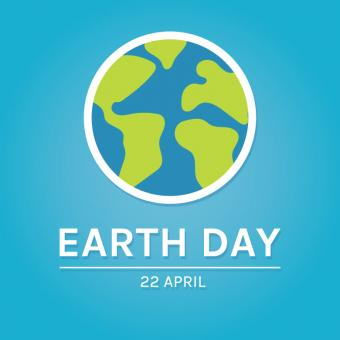 Free Stock Photo of Flat Illustration For Earth Day
