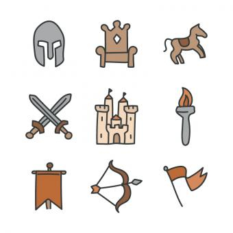 Free Stock Photo of Medieval Icons