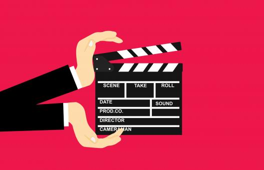 Free Stock Photo of Movie Clapperboard