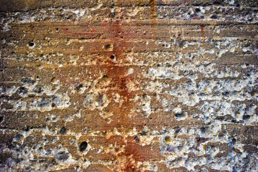 Free Stock Photo of Chipped Stone Wall