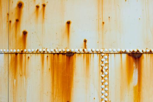 Free Stock Photo of Rusted Metallic Container