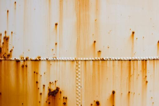 Free Stock Photo of Rusty Metal Container