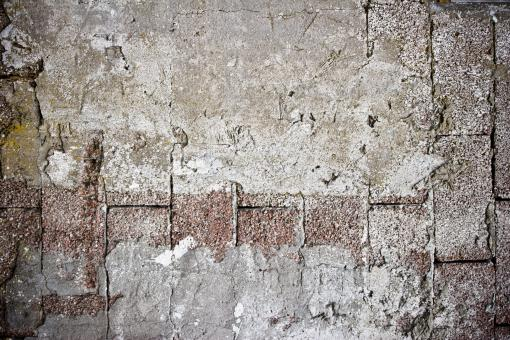 Free Stock Photo of Worn Concrete Brick Wall Texture
