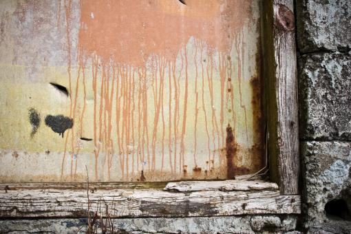 Free Stock Photo of Old Grunge Window Corner