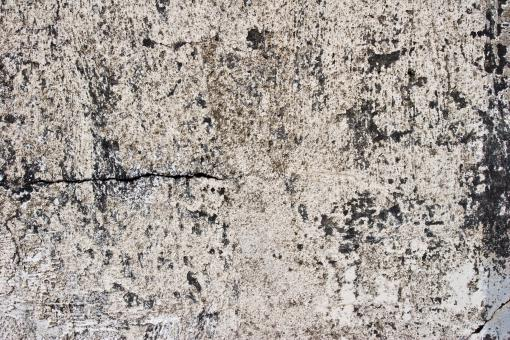 Free Stock Photo of Cracked Grunge Stone Wall