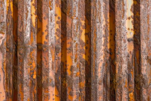 Free Stock Photo of Rusted Container Detail
